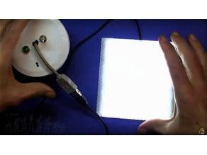 LED work platform (120x120mm)