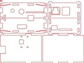 OpenBox - Raspberry Pi B with Camera Mount SVG