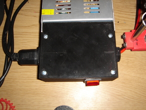 Another PSU terminal cover