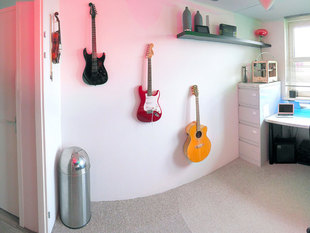 Guitar wall bracket