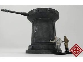 Sci Fi Laser Turret