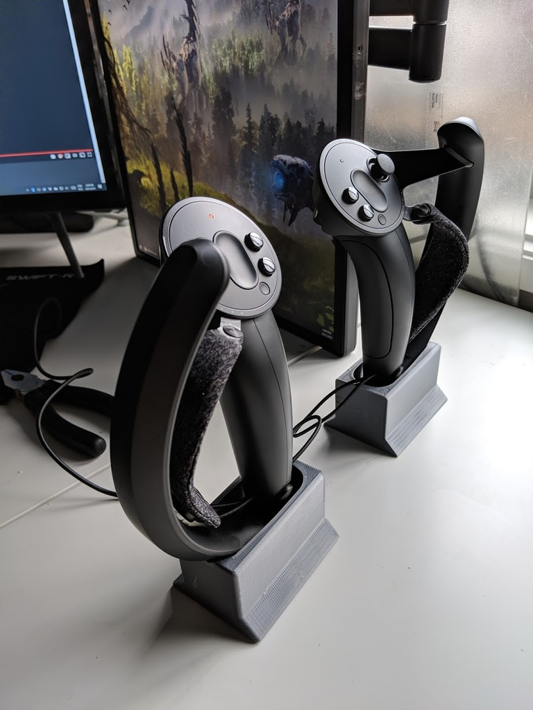 Valve Index (SteamVR Knuckles) Controller Charging Stand by