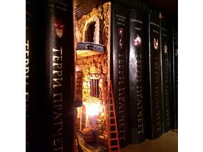 Fantasy Bookshelf Insert