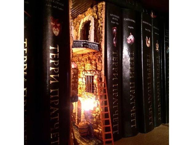 Fantasy Bookshelf Insert By Kborisov