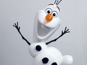 Olaf - I wanna build a snowman!