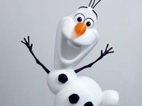 Olaf - I wanna build a snowman!