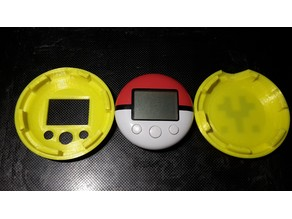 Pokewalker and Wii U Fit Meter Case - customizable / parametric