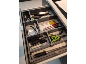 Drawer organizer system