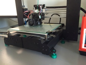 (updated)wanhao duplicator i3 adjustable feet