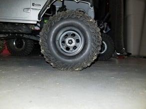 1.9 two tone beadlock crawler wheel for RC