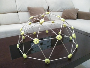 Easy assembled Geodesic Dome