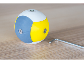 Bolt together Puzzle Sphere for kids