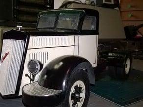 Lancia Esatau  old timer truck 1955