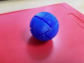 Spherical pseudo-cuboctahedron