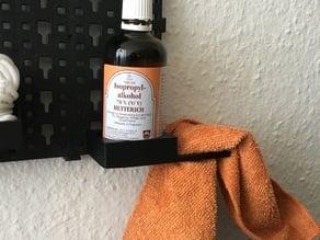 Lidl Powerfix tool wall - 5 cm bottle holder