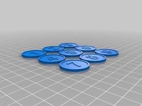Generic marker tokens