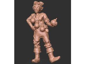 Female Gnome Alchemist