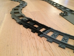 Duplo To Lego City Track Adapter