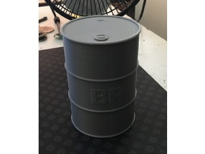 Oil Drum for 1/10th Scale RC