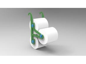 3 roll tolilet paper holder