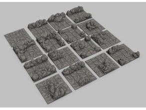 Modular cave tiles - Tiles de caverna modulares