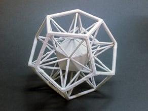 Dual Polygons: Icosahedron + Dodecahedron