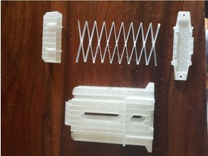 Nerf Magazine with 3D printed spring