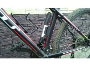 Bicycle pump holder