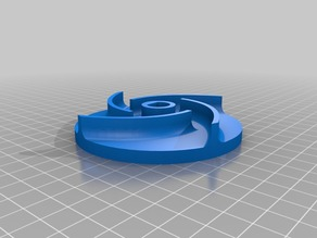 Impeller for the submersible pump