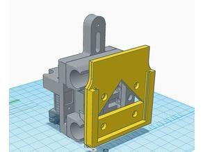 Hypercube Evolution Breakout Board Holder for hot end wiring