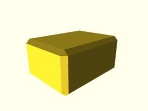 Beveled cube remix