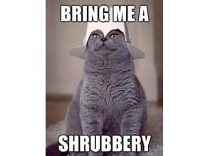 Shrubberies!!!!