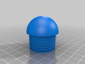 My Customized Rohr Endkappe / Pipe Plug , Parametric