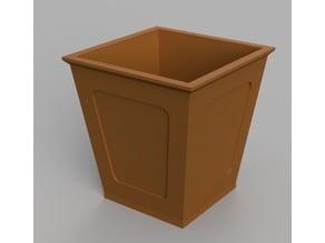Cascade Style Bonsai Pot - Easy Print