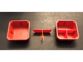 Packout Slim Square Bin T Divider