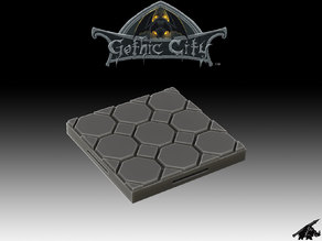 GOTHIC CITY Dungeon Floor - JOIN OUR Monster Miniature PATREON