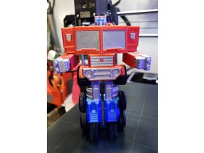 Transformable Optimus Prime Single Print Multi-Color Remix