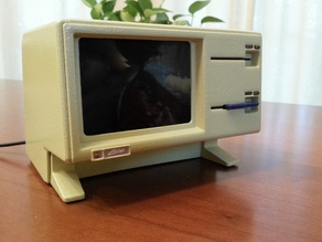 Apple Lisa Raspberry Pi Case