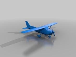 Cessna 172 Skyhawk Airplane