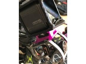 Gopro 5 session mount for ROOSTER and SLOOP V2