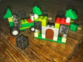 XYZ 16mm Calibration Lego Cube