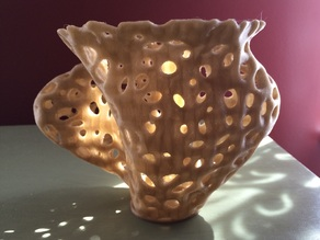 Voronoi Spline Twist Vase