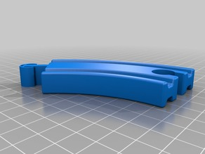Train Tracks Curved - Ikea / Kmart (AU) Compatible