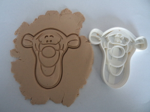 Tigger cookie cutter