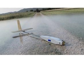 Boom and Pod RC glider
