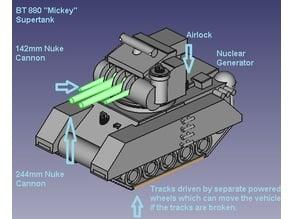 "BT 880 ""Mickey"" Supertank"