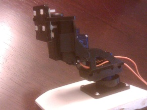 Raspberry Pi Camera Mount Pan-Tilt Adapter