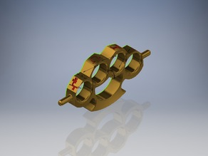 Enochian Brass Knuckles