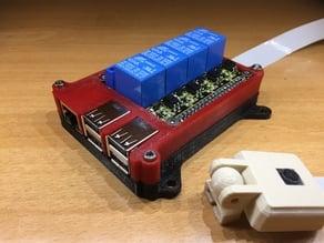 Boitier octoprint avec relais