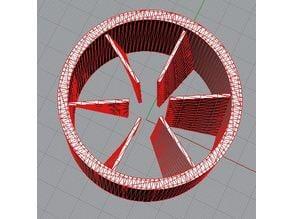 Vortice aria motore